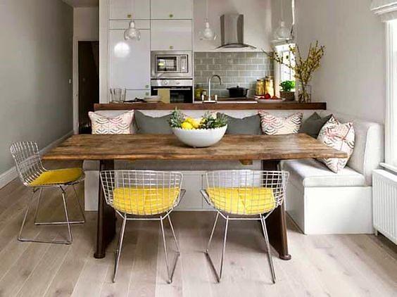 Consejos decoración: Fusión Cocina + Salón + Comedor - Interiorismo ...