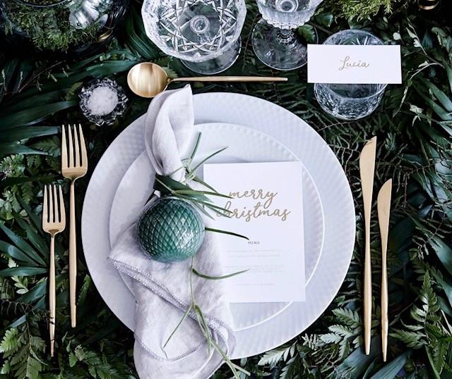decoracion mesa navidad 2
