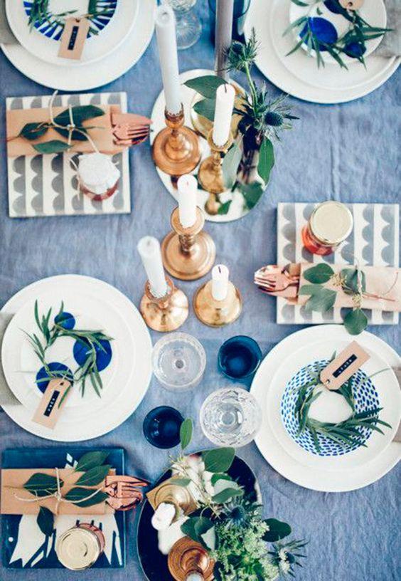 decoracion mesa navidad 7