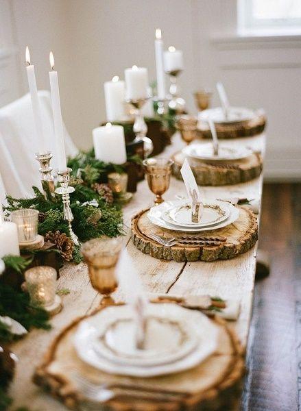 decoracion mesa navidad 8