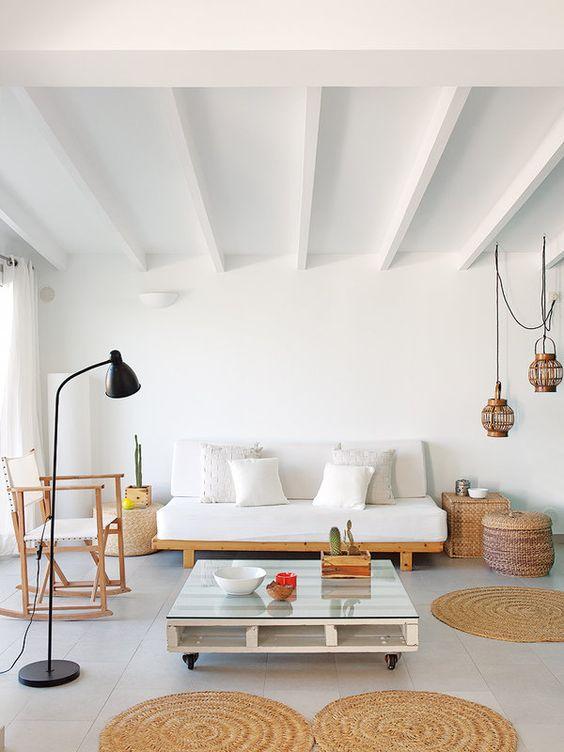 Combinaci n perfecta luz mimbre y vintage for Decoracion del hogar contemporaneo