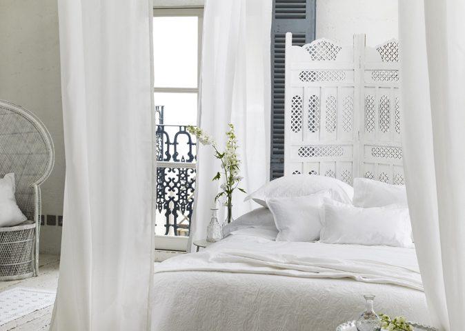 Decoraci n estilo rom ntico blanco sobre blanco for Decoracion estilo romantico